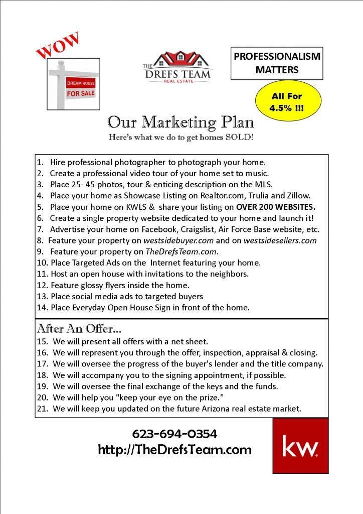 The Drefs Team Plan to Get Your Home SOLD!